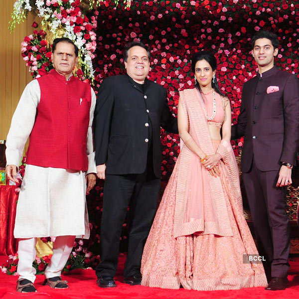 VVIPs @ Rajeev Reddy & Kavya's reception