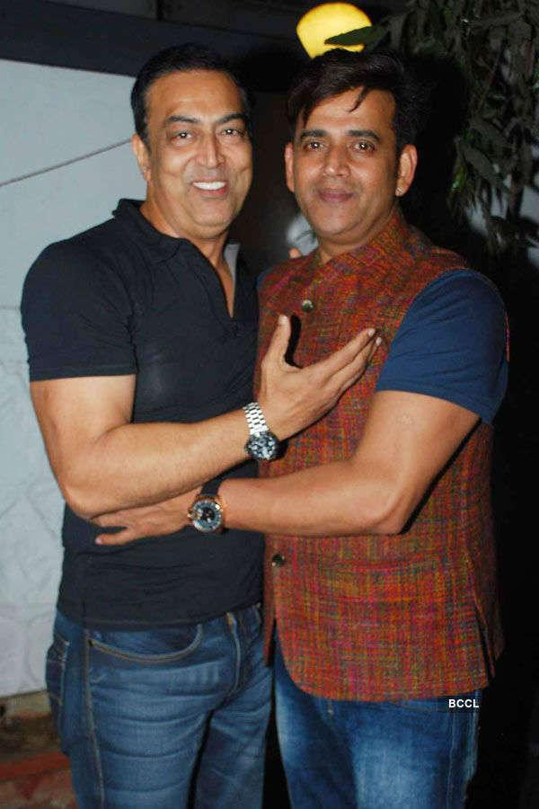 Gurmeet Choudhary's b'day party