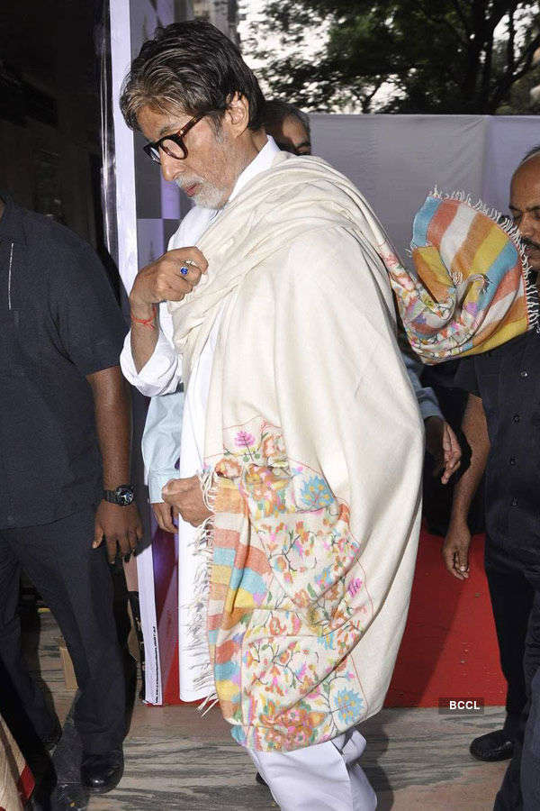 Big B & Jaya @ film heritage workshop