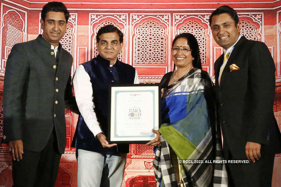 Times Food Guide Awards '15 - Winners: Jaipur