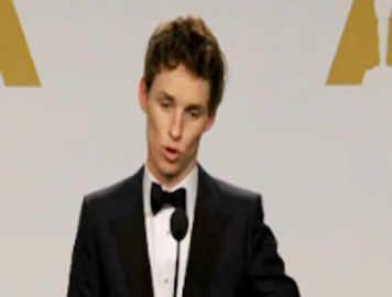 Eddie Redmayne interview post winning Oscar