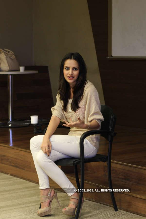 Miss India Koyal Rana shares tips with Campus Princess finalists