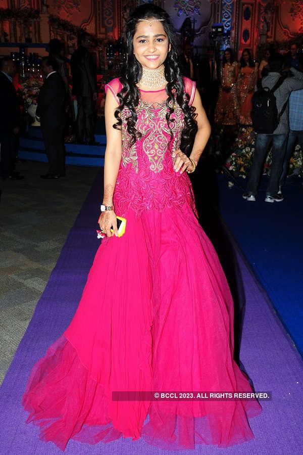 Manish & Nikita's wedding reception