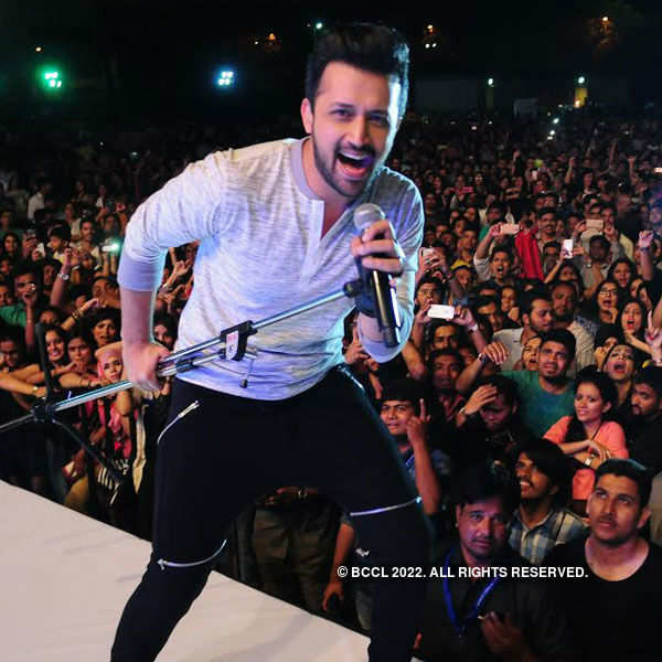 Atif Aslam rocks Hyderabad