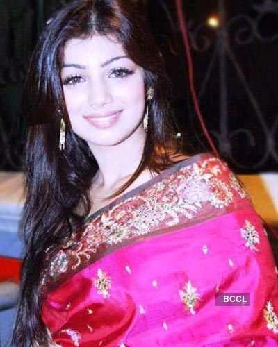 Ayesha in sarees
