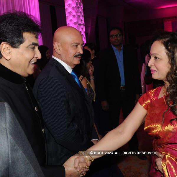 Tulsi Kumar & Hitesh Ralhan's reception
