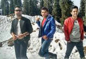 Ajaz Khan, Sahil Anand and Harsh shoot at Shimla