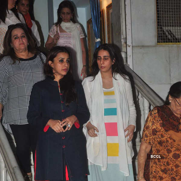 Celebs at Amit Mehra's prayer meet