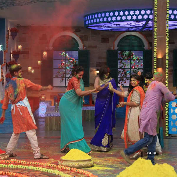 Holi celebration at MasterChef India-4