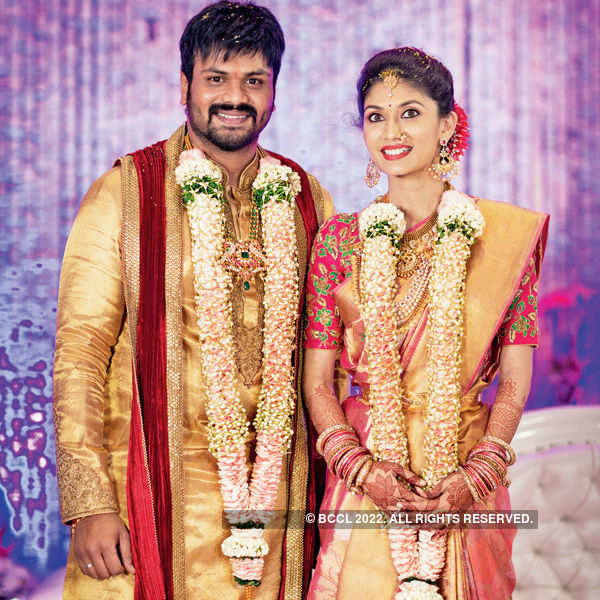 Manoj & Pranathi's engagement ceremony