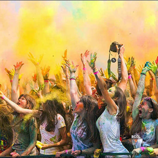 Holi Celebrations Across The World