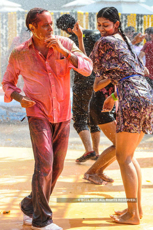 Vineet Jain's Holi Party '15: Celebs