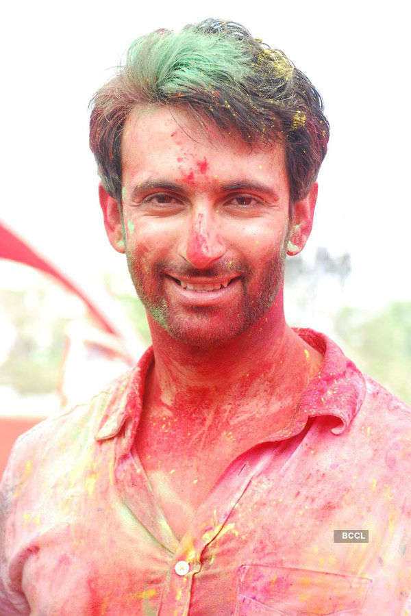 Celebs @ Holi celebrations