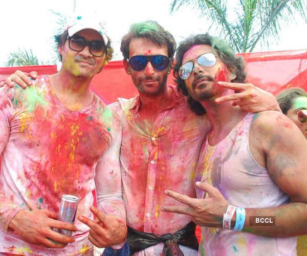 Celebs @ Holi celebrations
