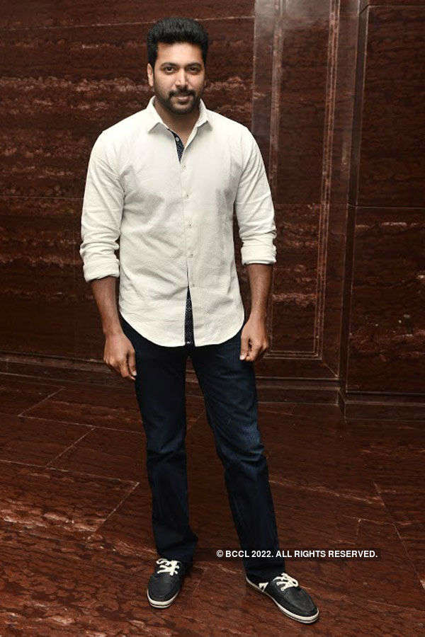 Jayam Ravi, Prachi Desai @ a fashion event