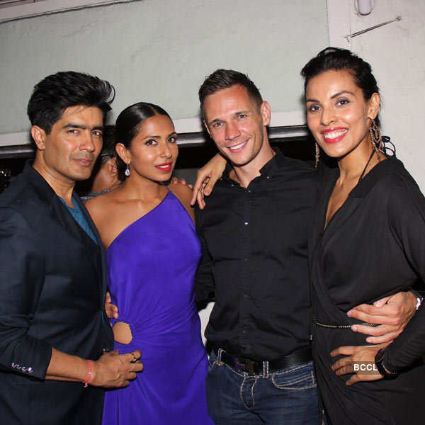 Candice Pinto's b'day party