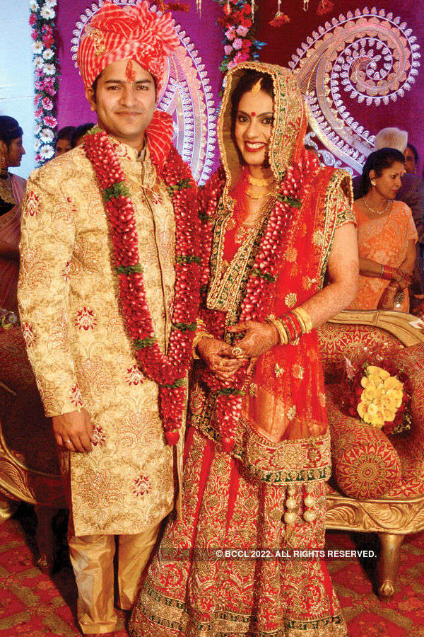Samiksha & Kalrav's wedding ceremony