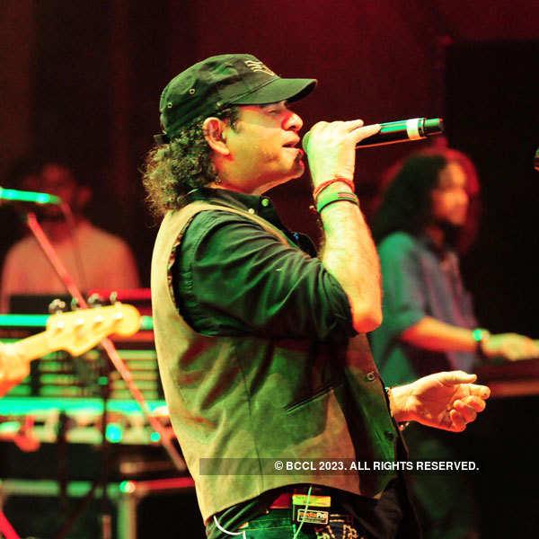 Mohit Chauhan at a musical concert