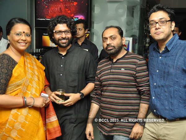 Jishu Sengupta's birthday party