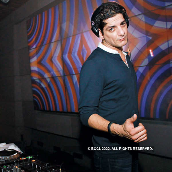 DJ Aqeel at the Untamable Nights