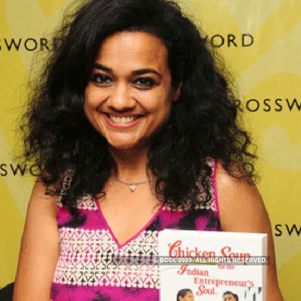 Raksha Bharadia unveils her new book