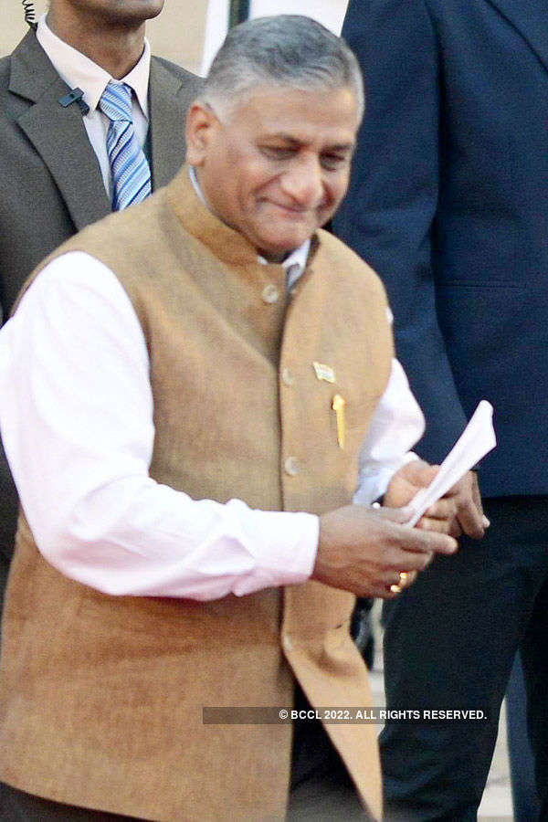 VK Singh attends Pak Day, expresses 'disgust'