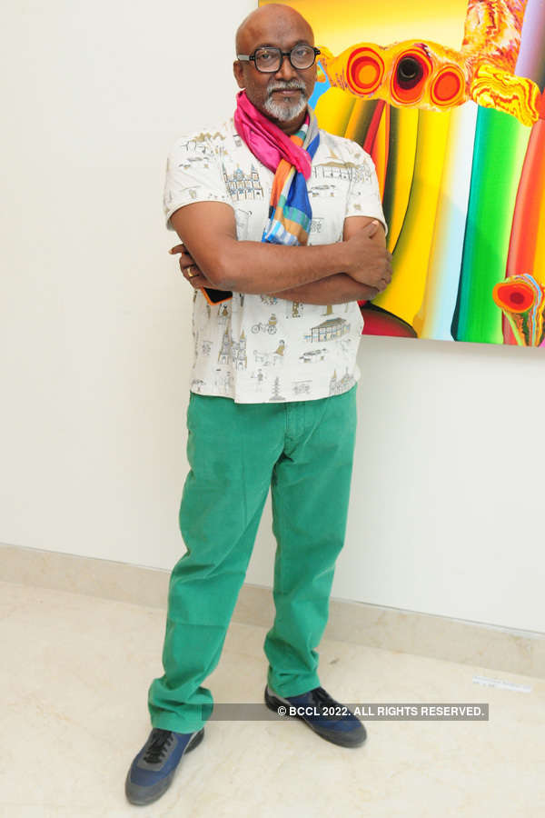 Bose Krishnamachari's painting exhibition
