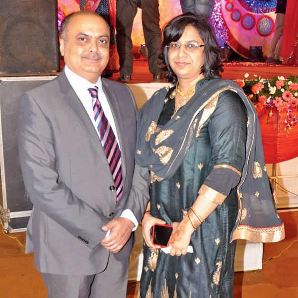 Harsha Singh weds Vandita