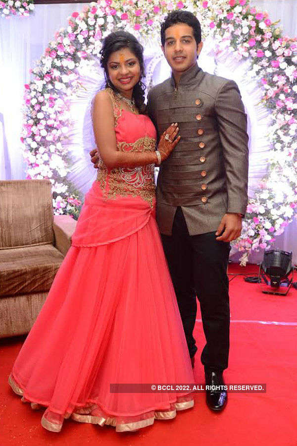 Ankit & Chandini's engagement ceremony