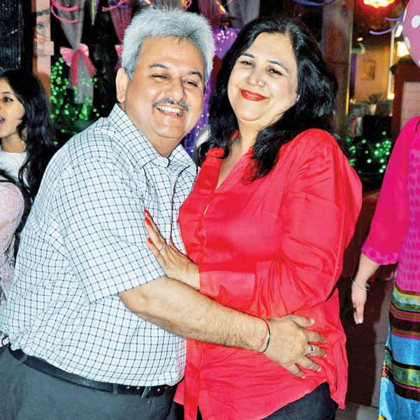Feroz & Sakeena's anniv. party