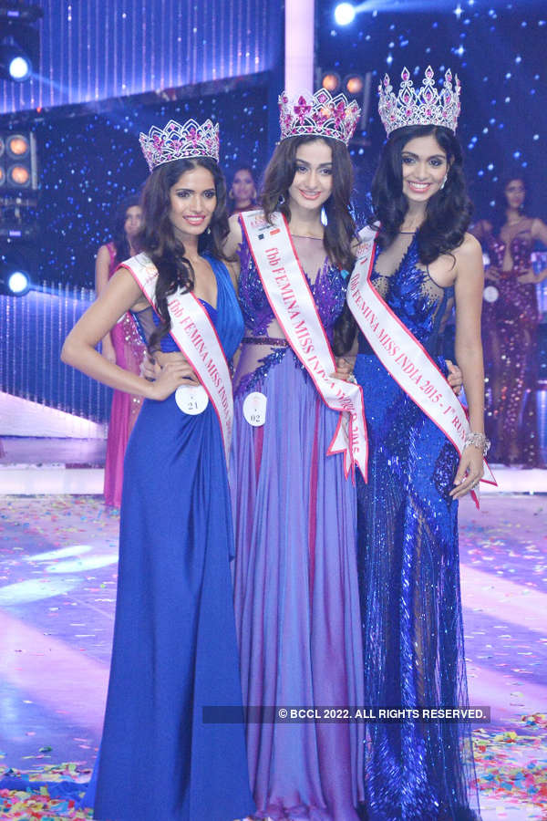 Femina Miss India 2015: Crowning Moments