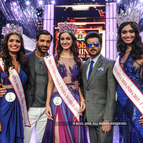 fbb Femina Miss India 2015: Winners
