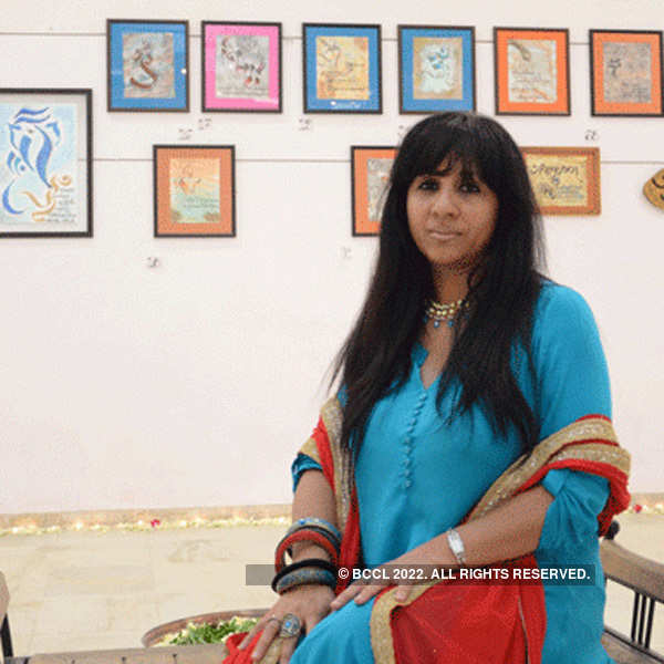 Calligraphy exhibition in Ahmedabad