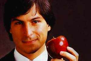 One of his first jobs was in an Apple orchard