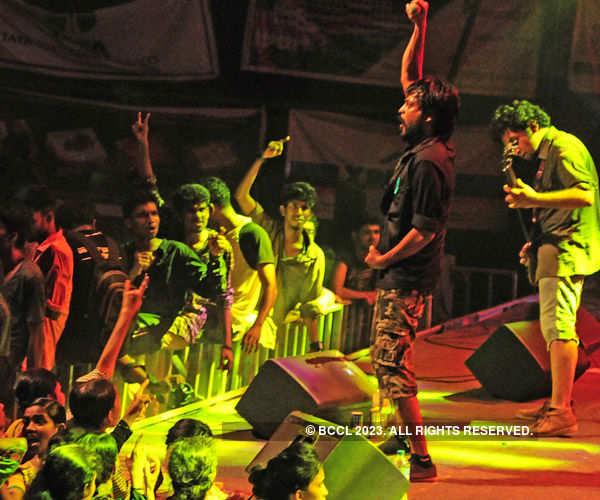 A techno-cultural fest