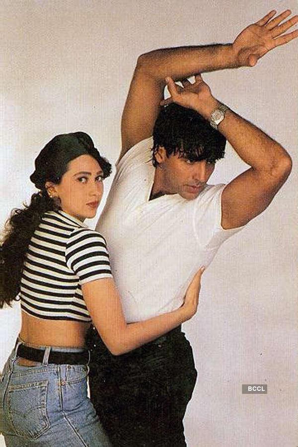 Akshay Kumar' and Karisma Kapoor