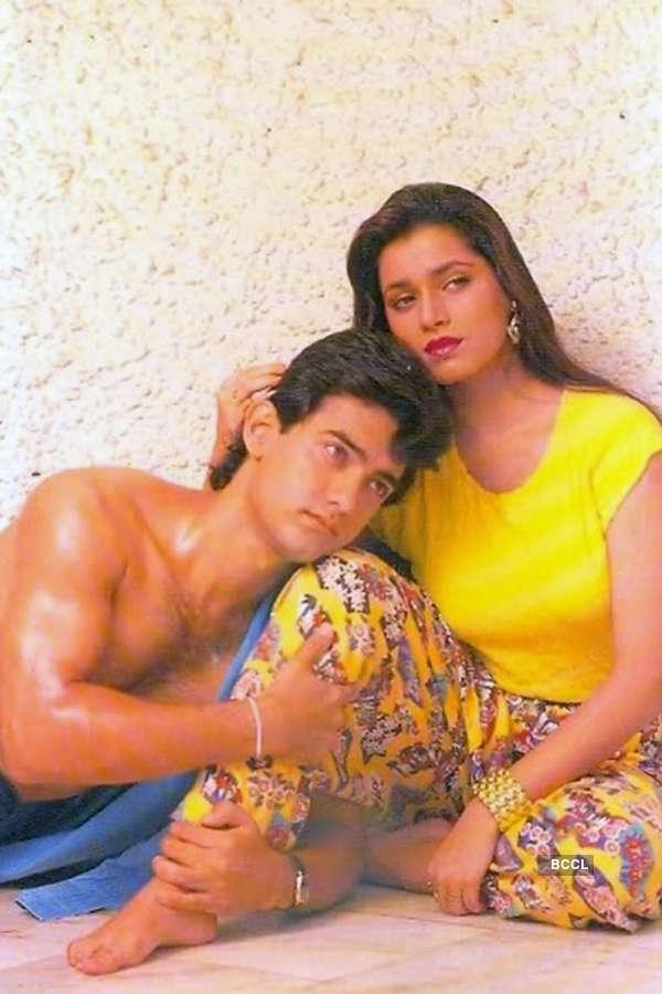 Aamir Khan and Neelam