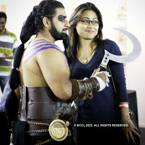 Rana & Tamannaah @ Comic Con