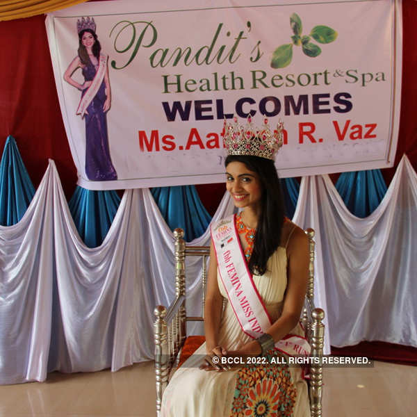 Pandit Resort welcomes Aafreen Vaz