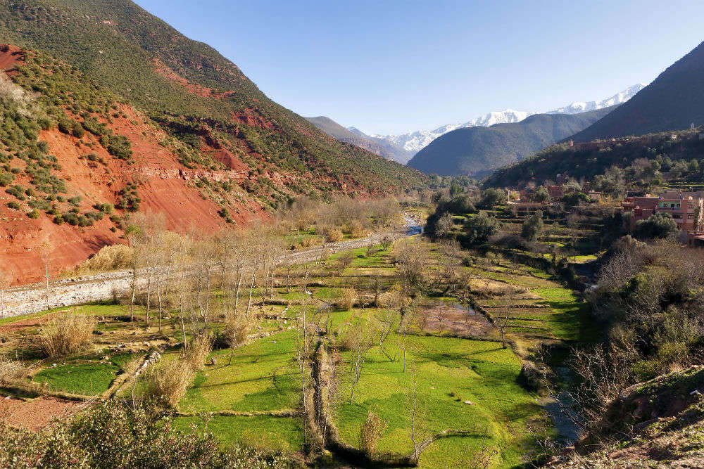Atlas Mountains and Ourika Valley
