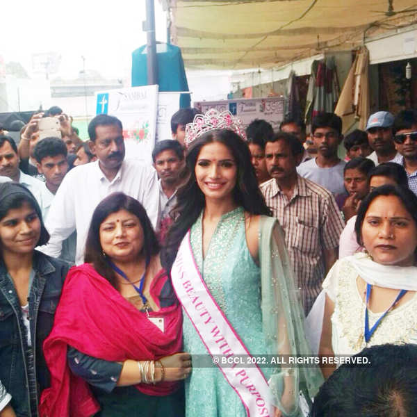 fbb Femina Miss India 2015 second runner up Vartika Singh Homecoming