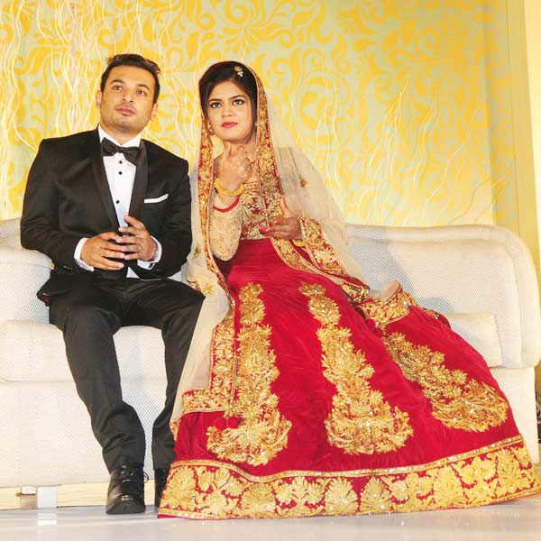 Jenuse Mohamed & Zalfa's wedding reception