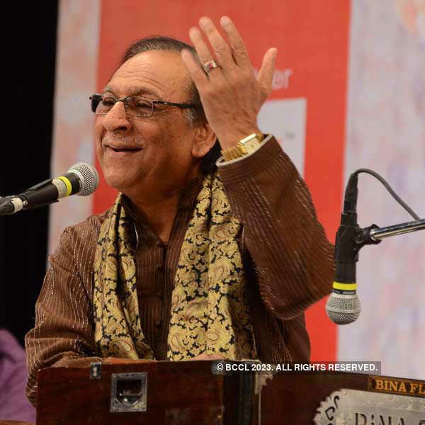 Ghulam Ali's live in concert at Shilpakala Vedika