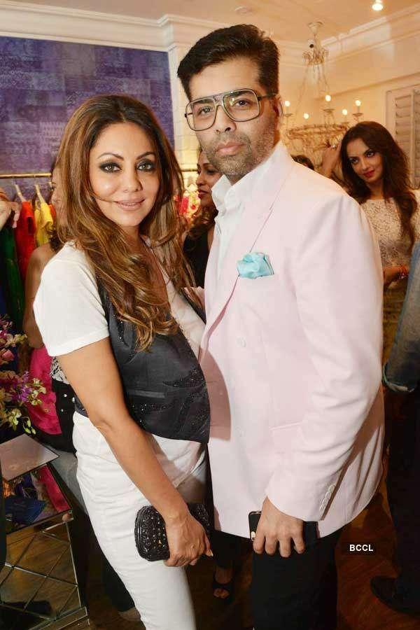 Celebs at Avinash Punjabi's store launch