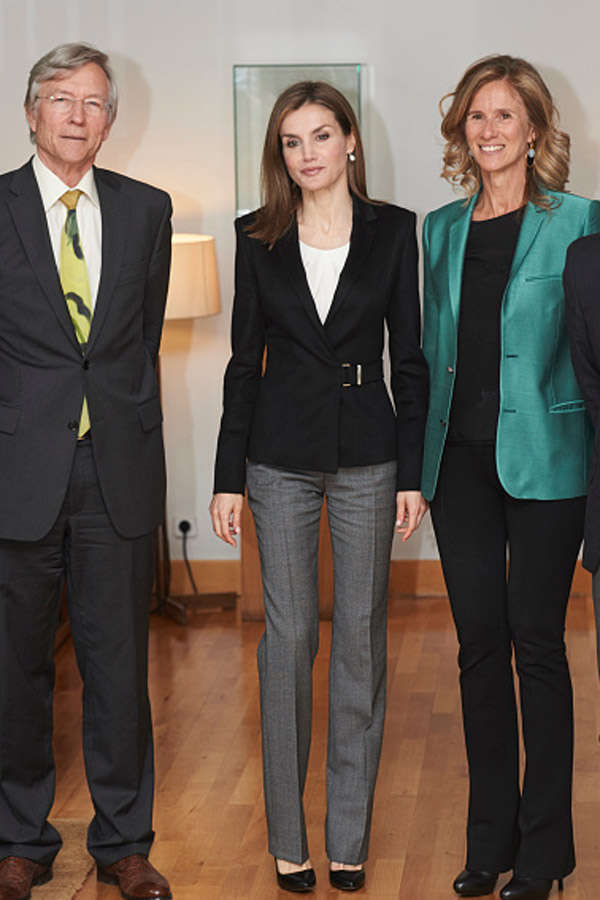 Queen Letizia of Spain Attends 'Princess of Girona' Awards