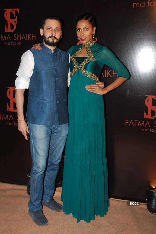 Celebs at Fatima Shaikh's store launch