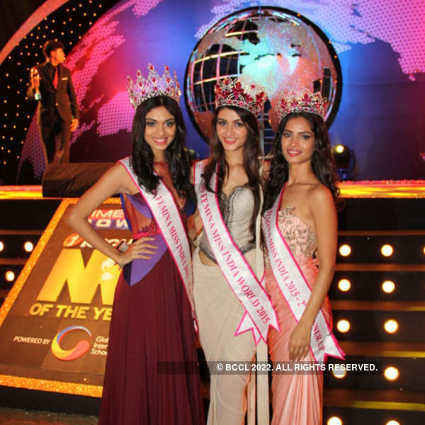 Miss Indias at NRI of the Year Awards