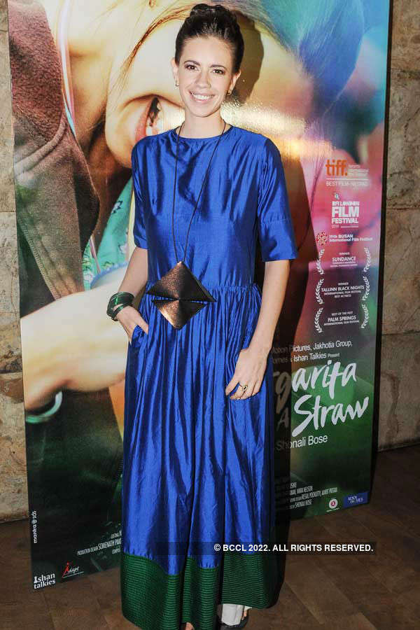Margarita With A Straw: Premiere