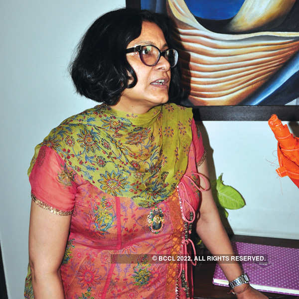 Painting exhibition by students