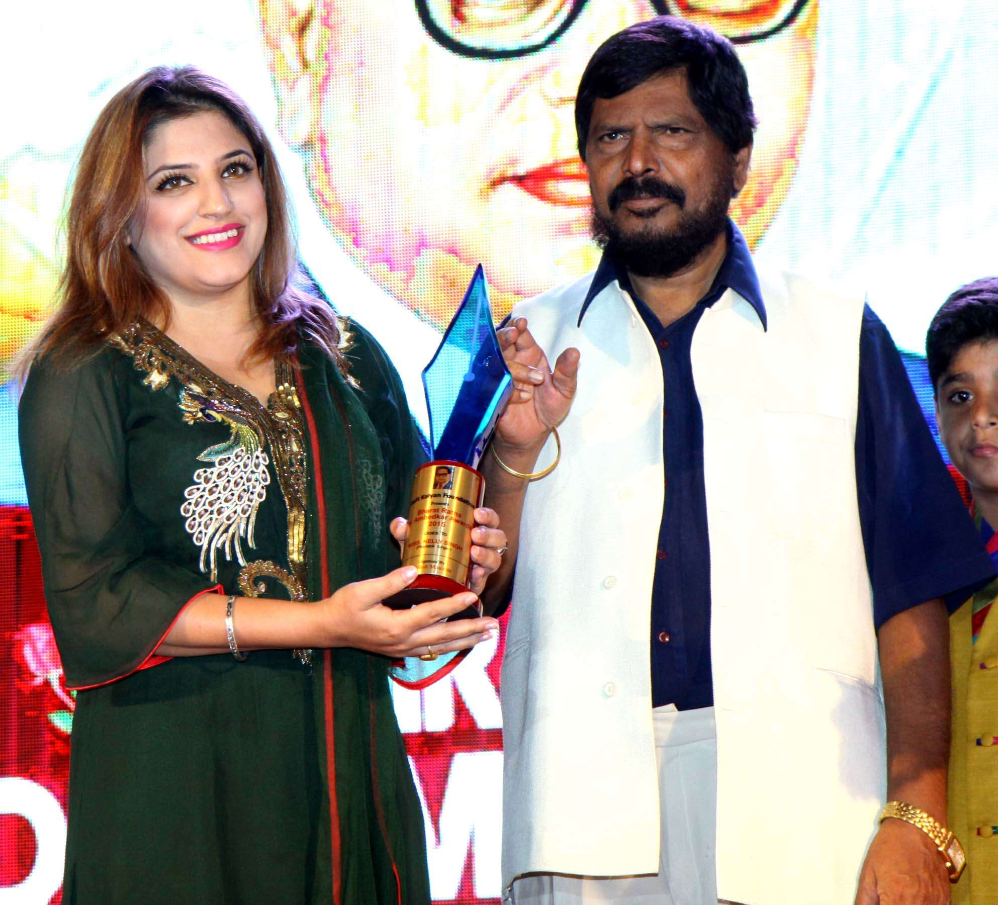 Celebs at Dr Ambedkar awards
